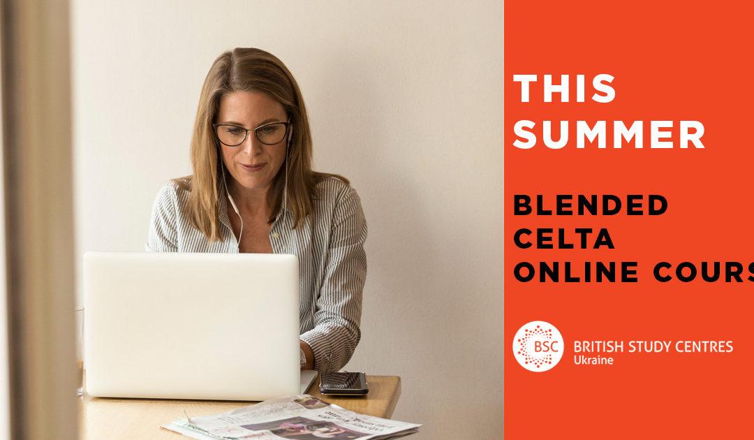 Blended CELTA Online Course