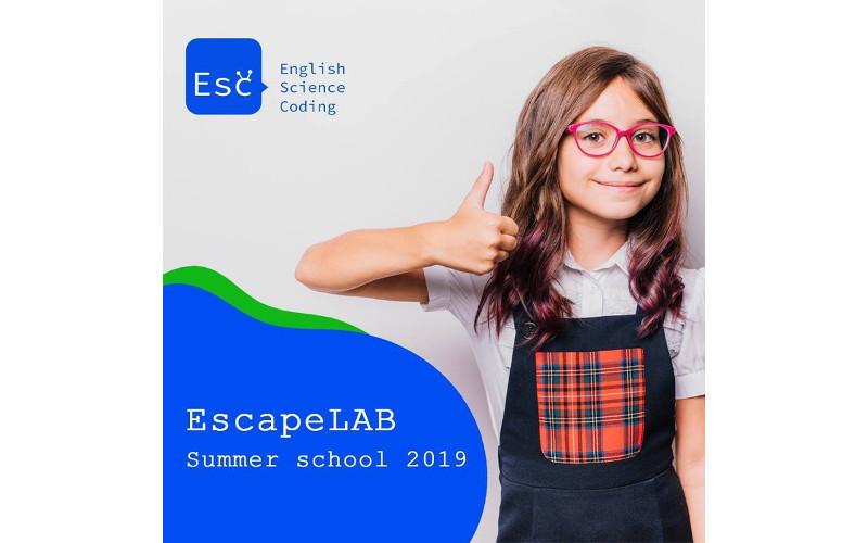 Літня школа EscapeLAB запрошує дітей 7-16 років в Summer Camp